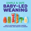 Simple   Safe Baby led Weaning Book