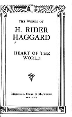 Heart of the World PDF