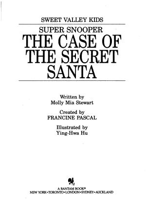 The Case of the Secret Santa