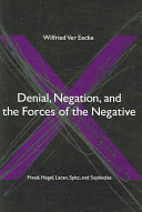 Denial  Negation  and the Forces of the Negative PDF