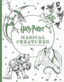 Download Harry Potter Magical Creatures Colouring Book Book