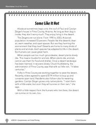 Test Prep Level 3 Some Like It Hot Comprehension And Critical Thinking Book PDF