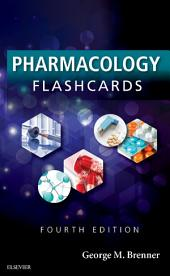 Pharmacology Flash Cards E-Book: Edition 4