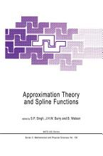 Approximation Theory and Spline Functions PDF