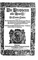 Biblia  Das ist  Die gantze H  Schrifft Deutsch0 PDF