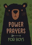 Power Prayers for Boys Book