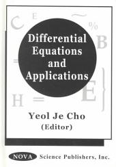 Differential Equations and Applications: Volume 1