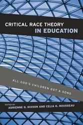 Critical Race Theory In Education Book PDF