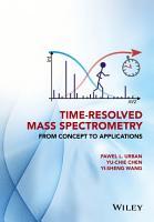 Time Resolved Mass Spectrometry PDF