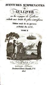 Aventures surprenantes de Gulliver: ou, Les voyages de Gulliver réduits aux traits les plus interessans, Volume2