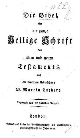 Die Bibel     nach der deutschen Uebersetzung D  Martin Luthers  Abgedruckt nach der Hallischen Ausgabe PDF