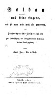 Goldau und seine Gegend PDF