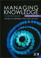 Managing Knowledge PDF