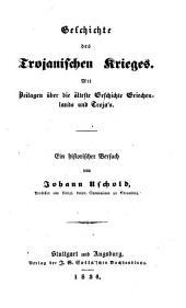 Geschichte des trojanischen Krieges