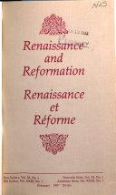 Download Renaissance Et R  forme Book