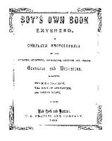 The Boy s Own Book Extended PDF