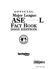 Official Major League Baseball Fact Book PDF