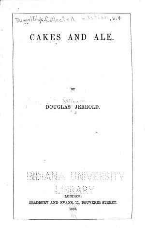The Writings of Douglas Jerrold