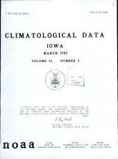 Climatological data: Iowa, 第 94 卷,第 3 期
