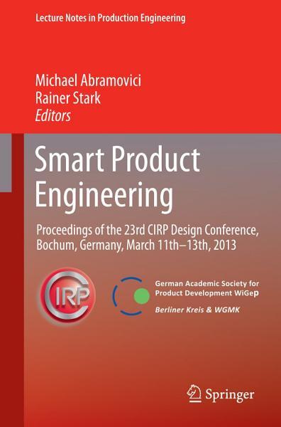 Download Smart Product Engineering Book