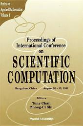Scientific Computation - Proceedings Of International Conference