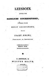 Leesboek over de bijbelsche geschiedenissen, vooral voor meestgeoefenden: Volume 1