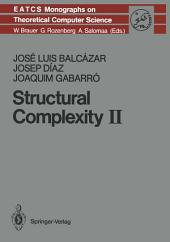 Structural Complexity II