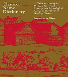 Chaucer Name Dictionary PDF