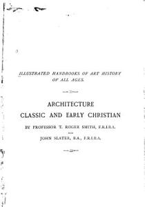 Architecture  Classic and Early Christian PDF