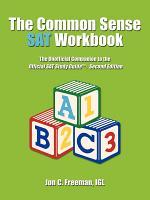 The Common Sense Sat Workbook PDF