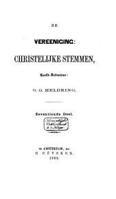 De Vereeniging Christelijke Stemmen: Volume 17