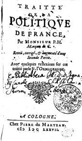 Traitte' de la politiqve de France