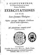 J. Cloppenburg exercitationes super locos communes theologicos