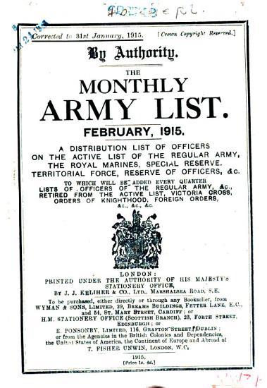 The Army List PDF
