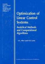 Optimization of Linear Control Systems
