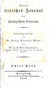 Neues kritisches Journal der theologischen Literatur: Band 8