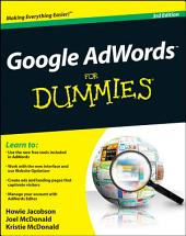 Google AdWords For Dummies: Edition 3