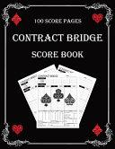 Contract Bridge Score Book