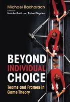 Beyond Individual Choice PDF