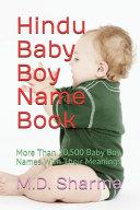 Hindu Baby Boy Name Book PDF