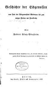 Geschichte der Eidgenossen vom Tode des Bürgermeisters Waldmann bis zum ewigen Frieden mit Frankreich: Band 5,Ausgabe 2