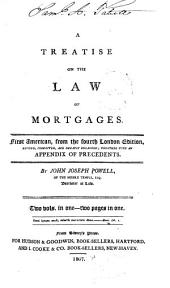 A Treatise on the Law of Mortgages