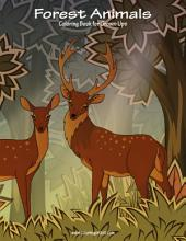 Forest Animals Coloring Book for Grown-Ups 1