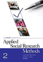 The SAGE Handbook of Applied Social Research Methods PDF