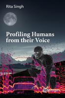 Profiling Humans from their Voice PDF