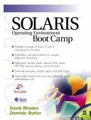 Solaris Operating Environment Boot Camp
