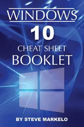 Windows 10 Cheat Sheet Booklet