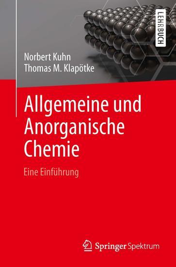 Allgemeine und Anorganische Chemie PDF