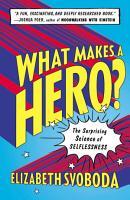 What Makes a Hero  PDF