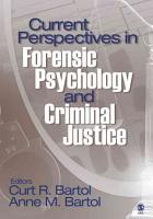 Current Perspectives in Forensic Psychology and Criminal Justice PDF